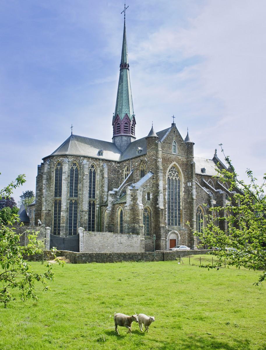 Abbaye du Val-Dieu - Aubel - vue extérieure