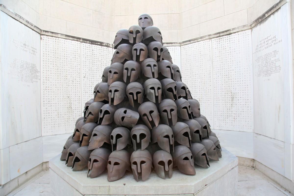Mémorial Interallié - Casques © P. Fagnoul