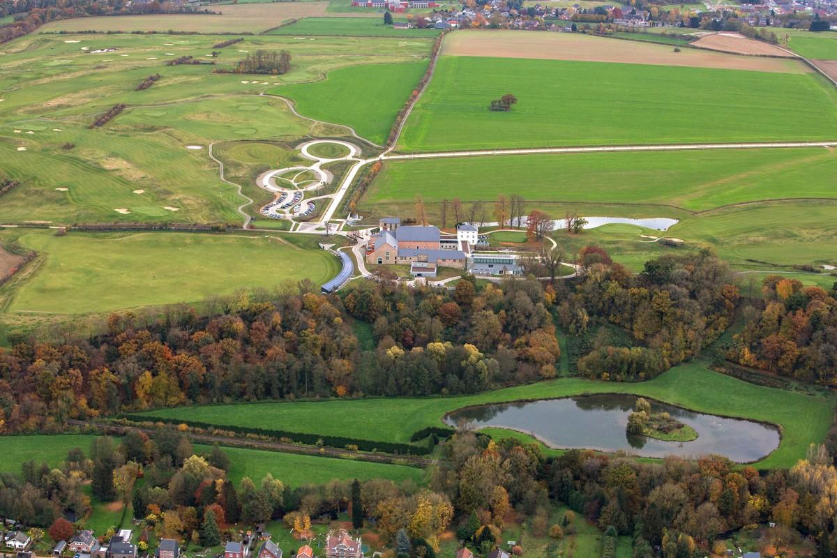 Naxhelet Golf CLub - Wanze - vue aérienne