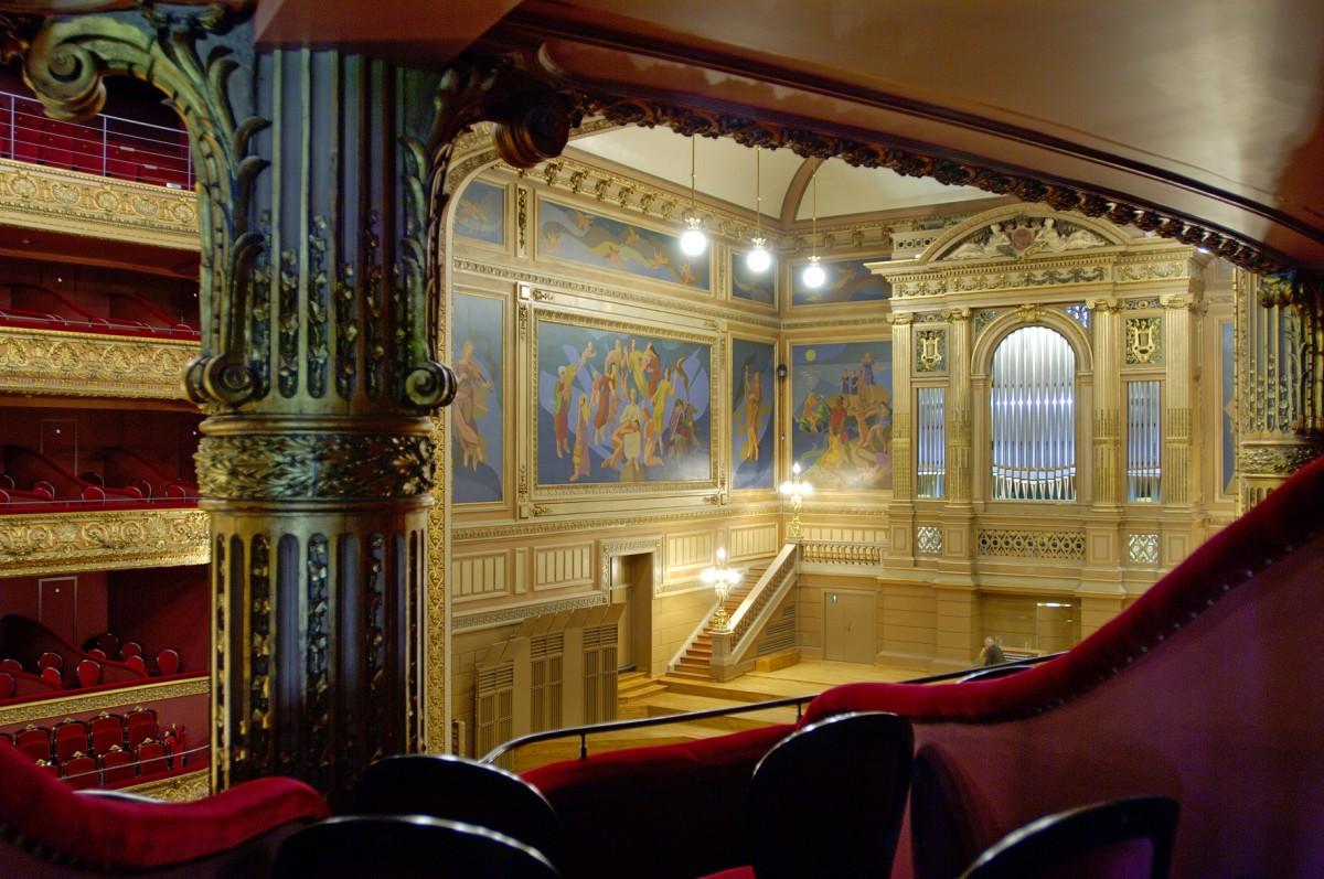 Orchestre philharmonique - Liège - Orgue depuis loge