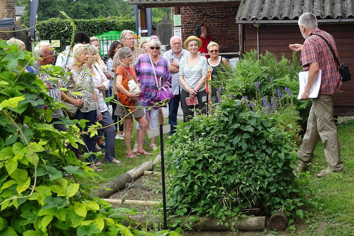 Jardin Plantes Pitet – Braives – Groupe visiteurs