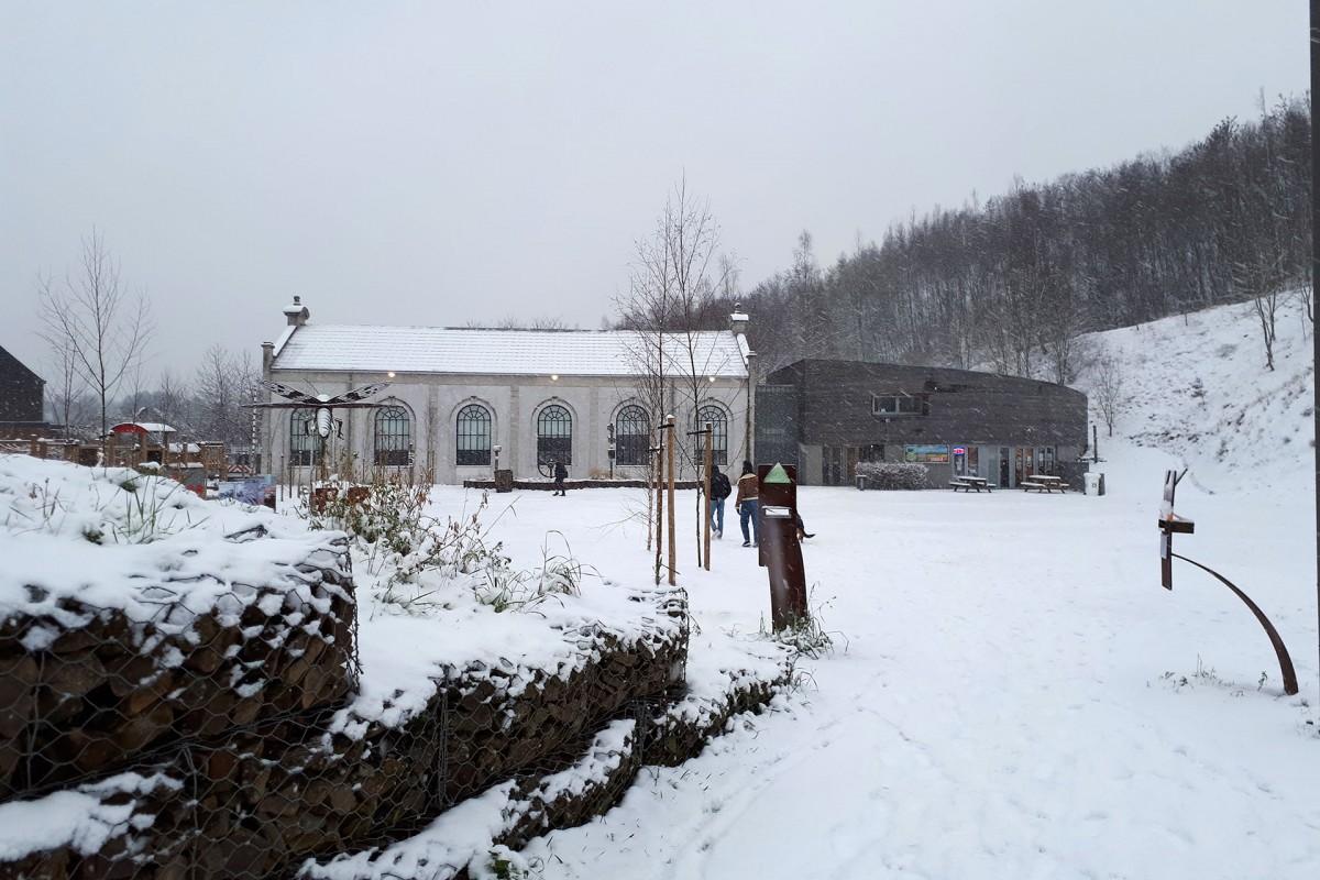 Terril du Gosson - Sous la neige