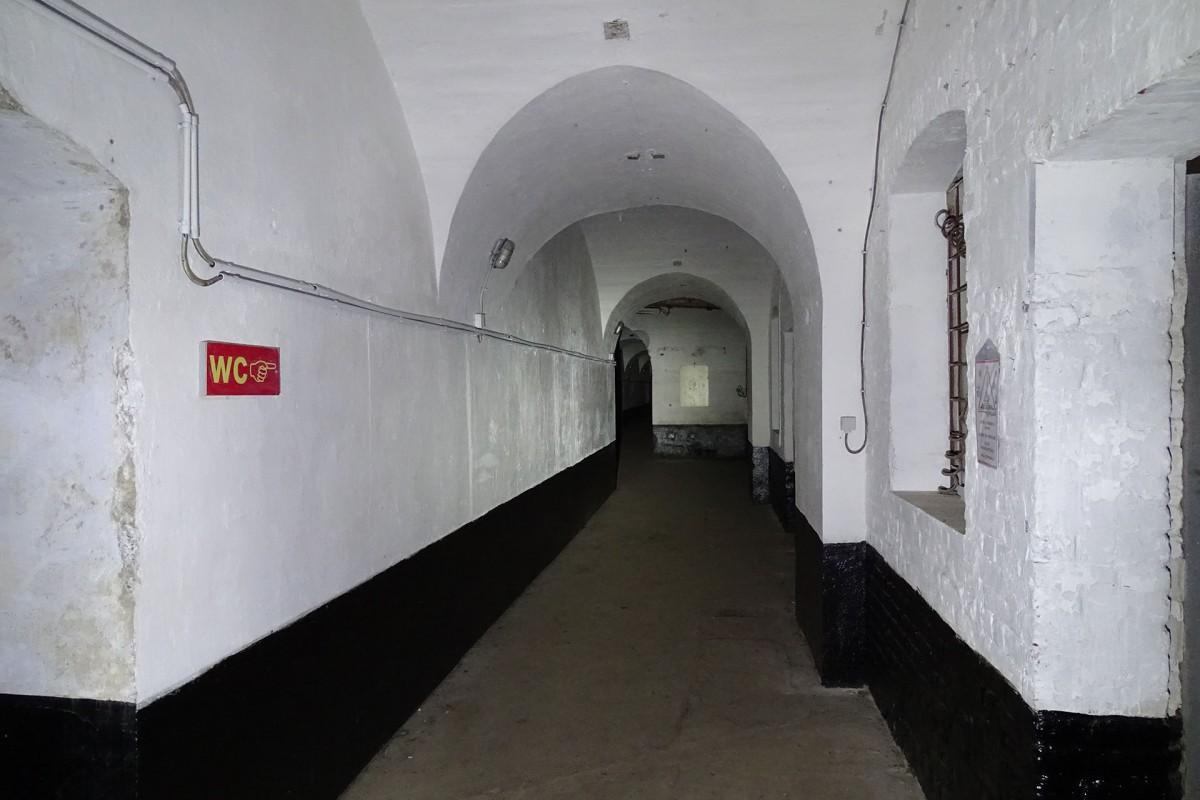 Fort Hollogne - Couloir du front de gorge © Fort de Hollogne - Résimont
