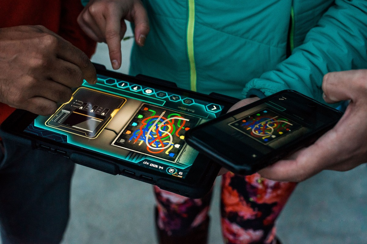 Liège Outdoor Game - Tablette et Smartphone