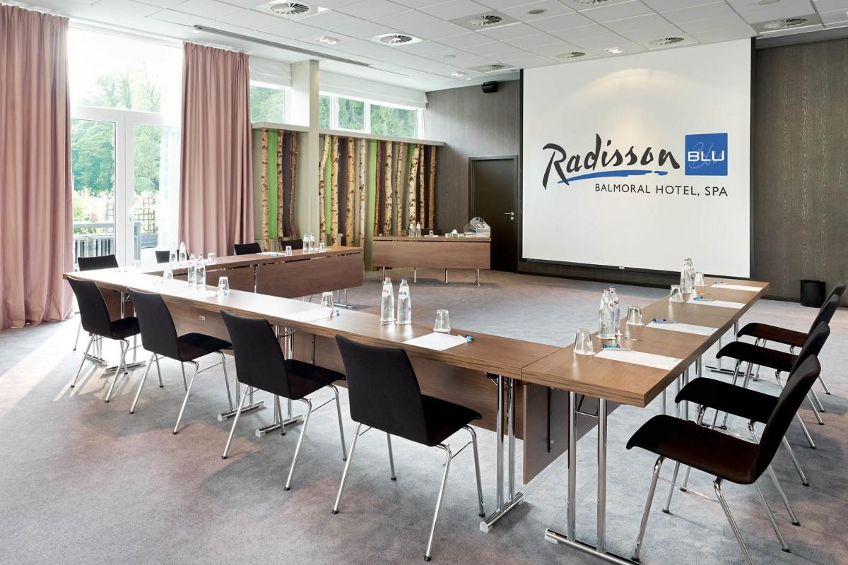 Radisson Blu Balmoral Hotel - Salle de réunion