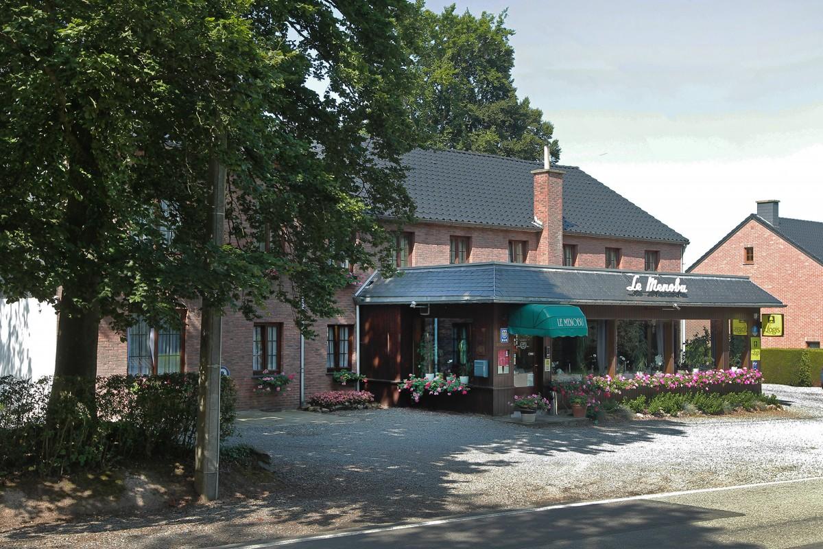 Hôtel le Ménobu - La Reid - Façade