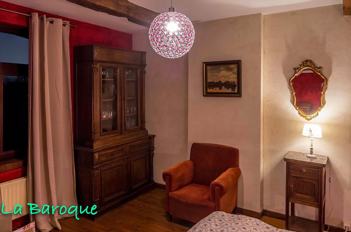 L'en vert du décor - Lincent - Chambre Baroque