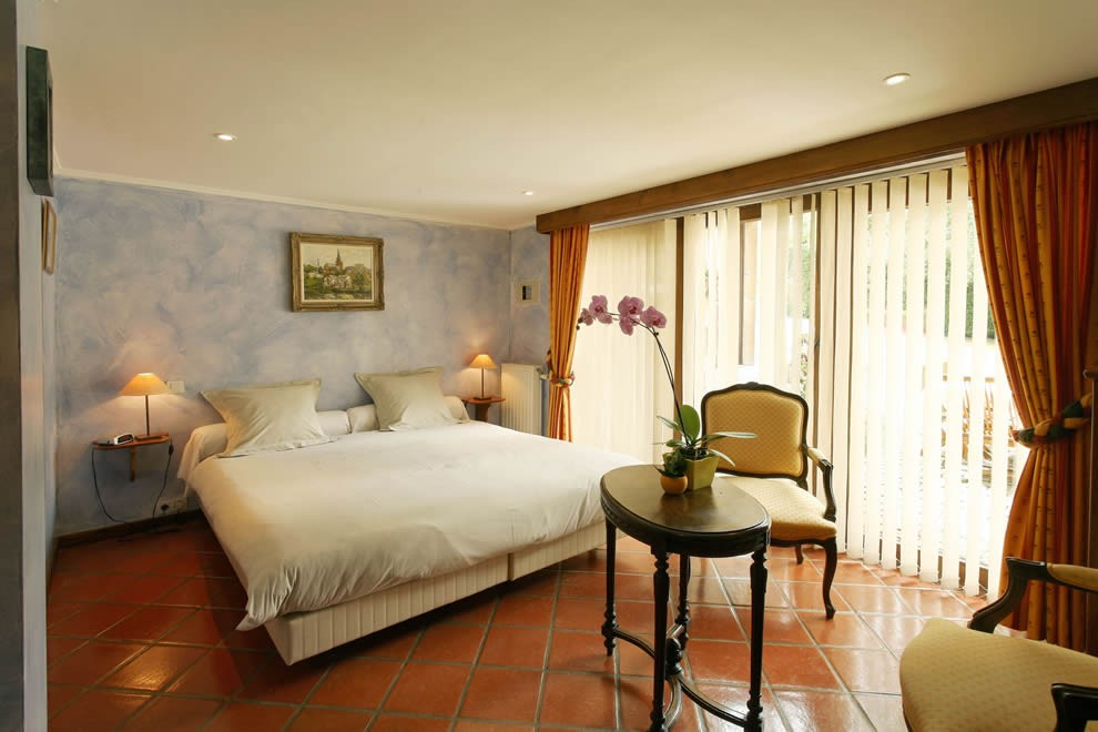 Villa-des-fagnes chambre