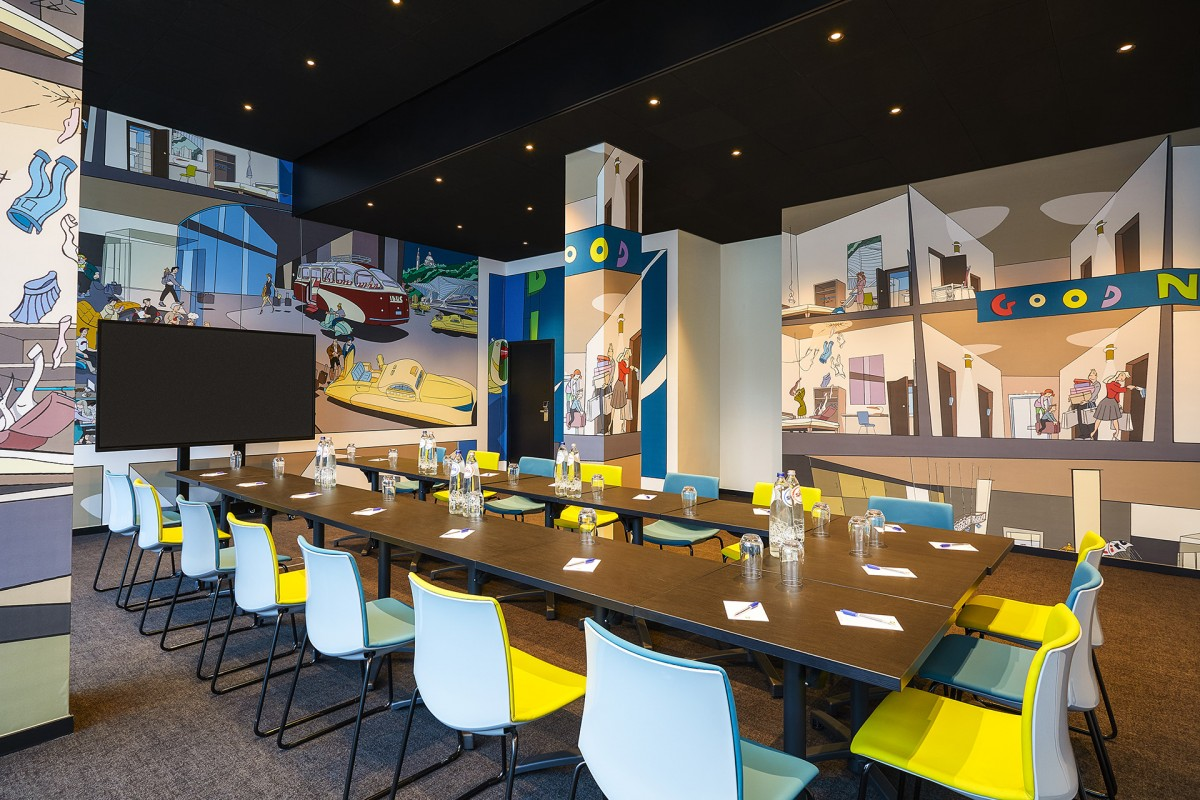 Ibis Style Liège-Guillemins - Salle de réunion