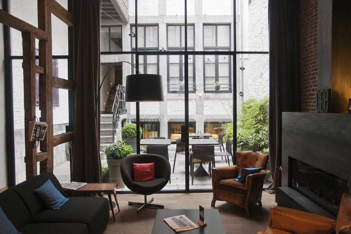 Hôtel Neuvice - Liège - Salon
