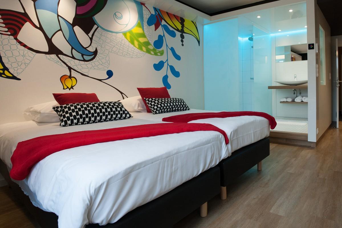 Appart'Hôtel Urban Lodge - Chaudfontaine - Déco chambre