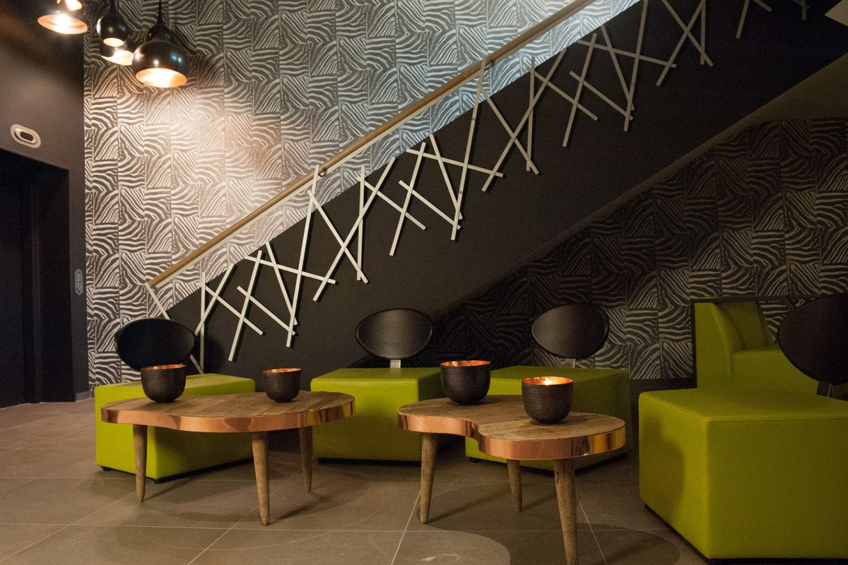 Appart'Hôtel Urban Lodge - Chaudfontaine - Salon