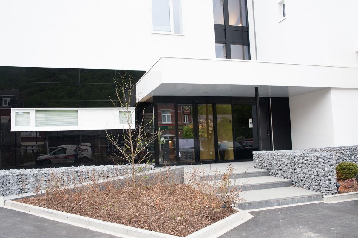 Appart'Hôtel Urban Lodge - Chaudfontaine - Entrée de l'hôtel