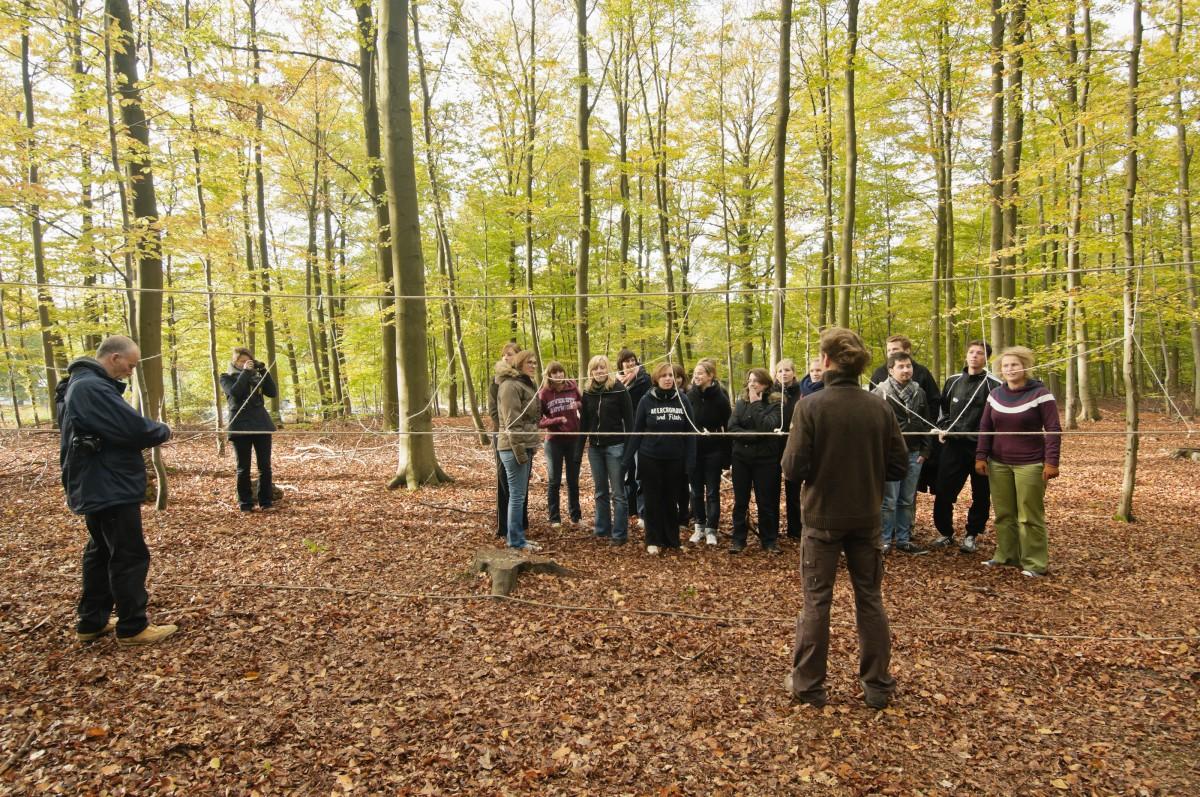Corsendonk Sol Cress - Spa - Groupe dans la forêt
