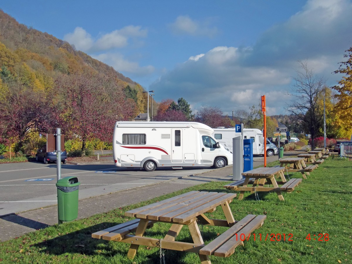 Aire pour motor-home Agisca