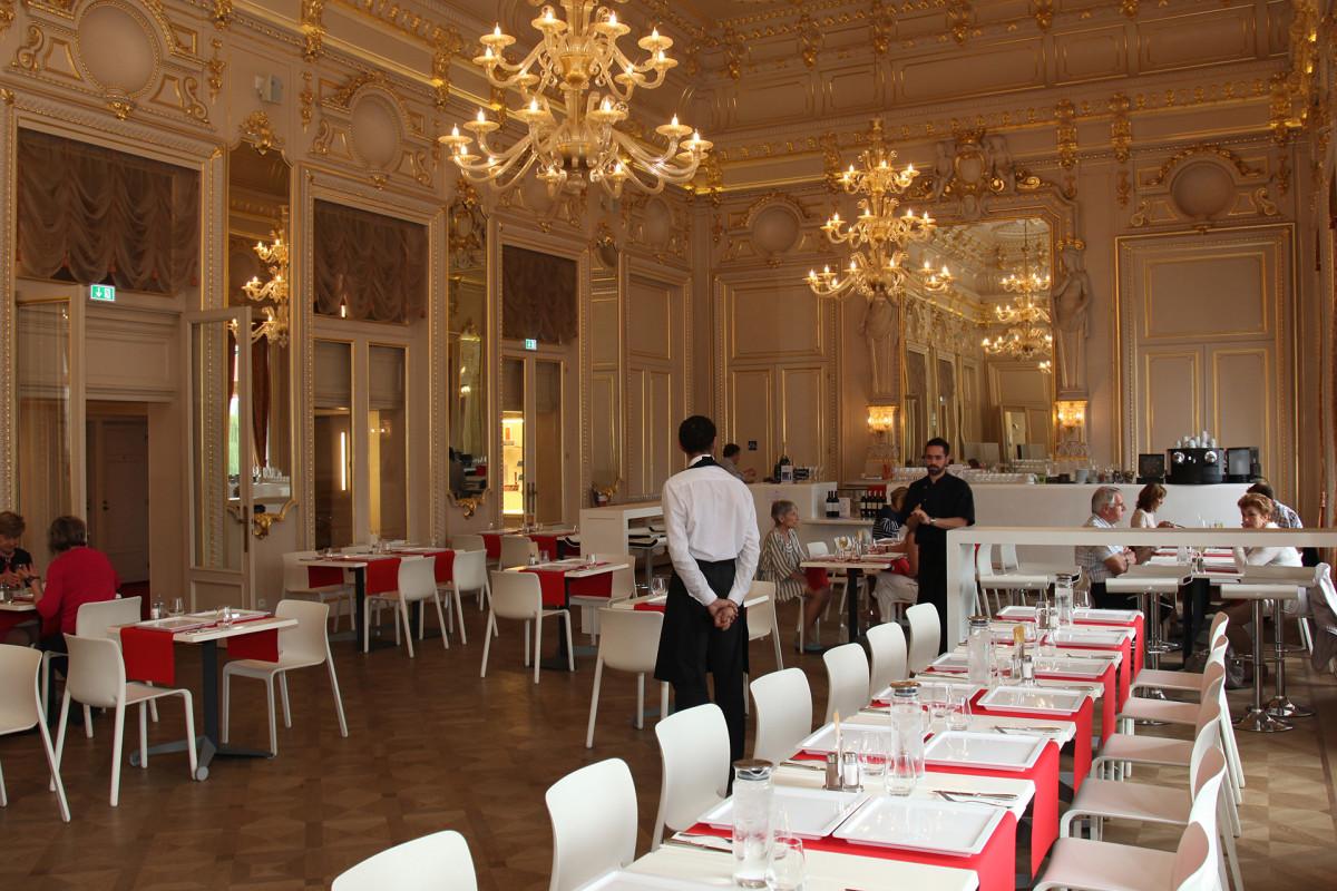 Restaurant Opéra - Liège - salle du restaurant