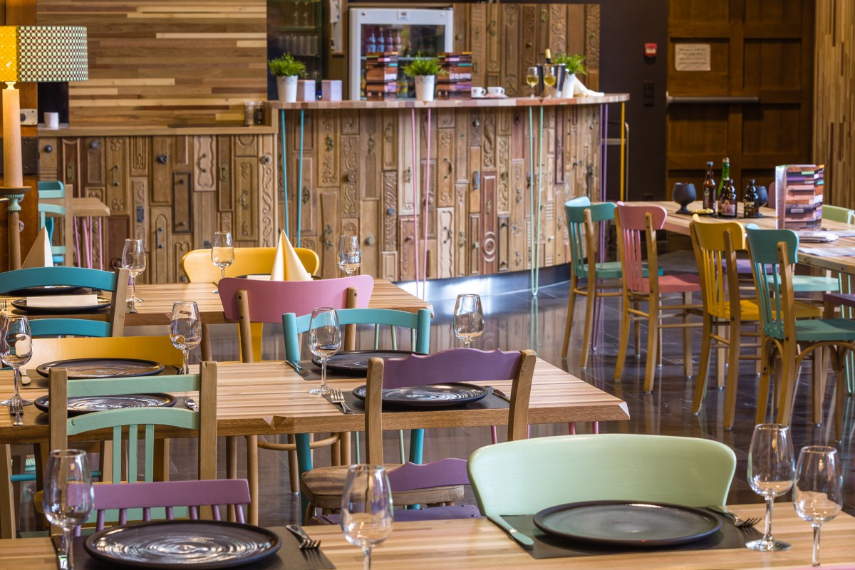 Restaurant Le Cloître - Musée Vie wallonne - Liège - vue d'ensemble