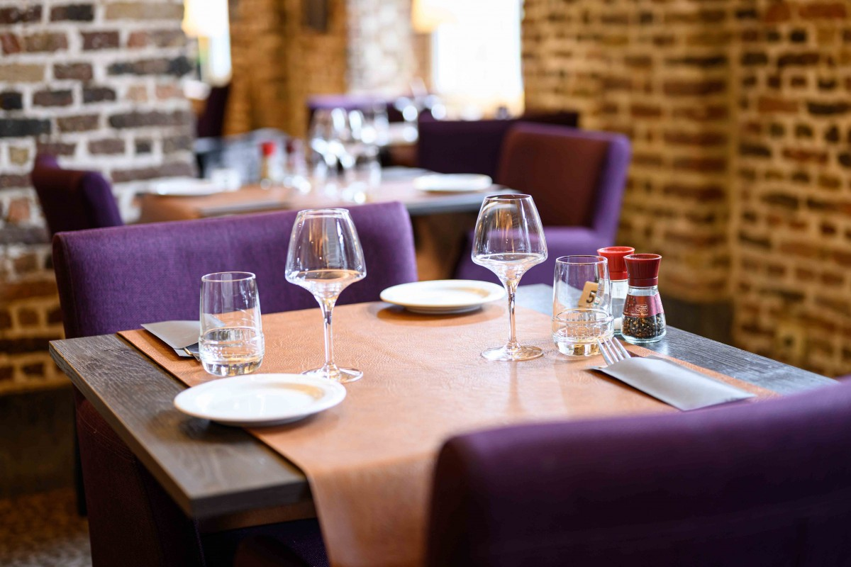 Restaurant Le Faubourg Saint-Léonard - Table