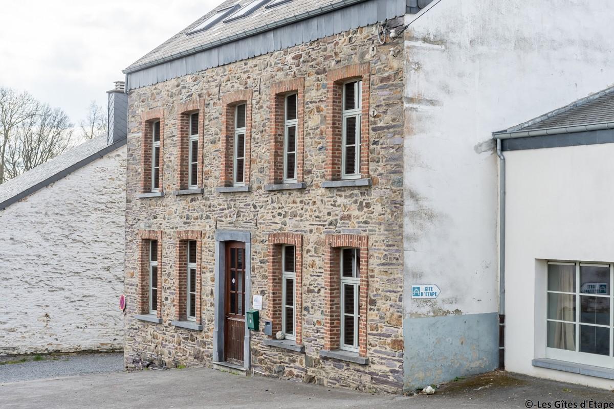 Gîte Kaleo d'Arbrefontaine-Ecole – Lierneux – Façade