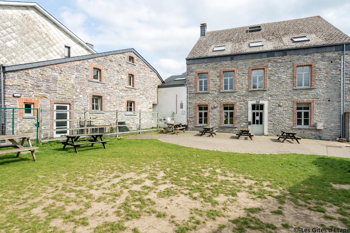 Gîte Kaleo d'Arbrefontaine-Ecole – Lierneux – Jardin
