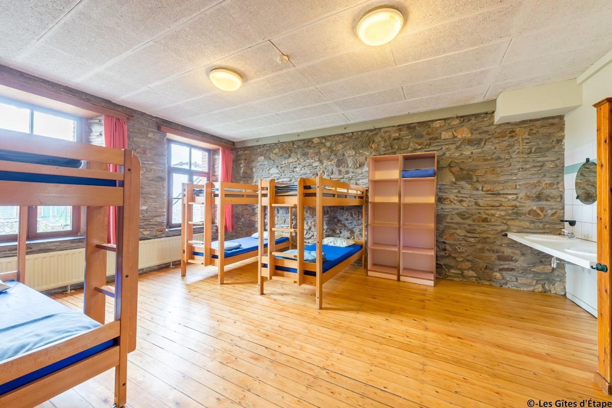 Gîte Kaleo d'Arbrefontaine-Ecole - Lierneux - Chambre
