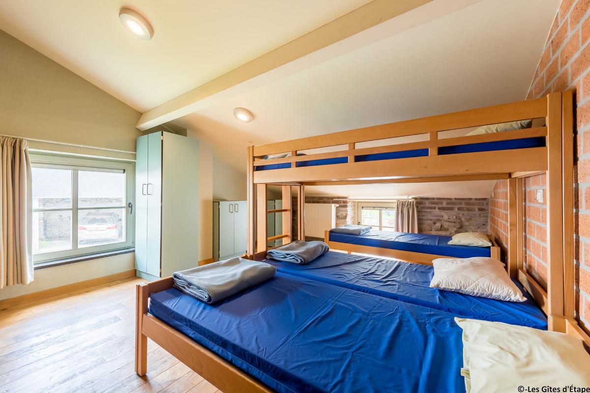 Gîte Kaleo d'Arbrefontaine-Petite Maison - Lierneux - Chambre
