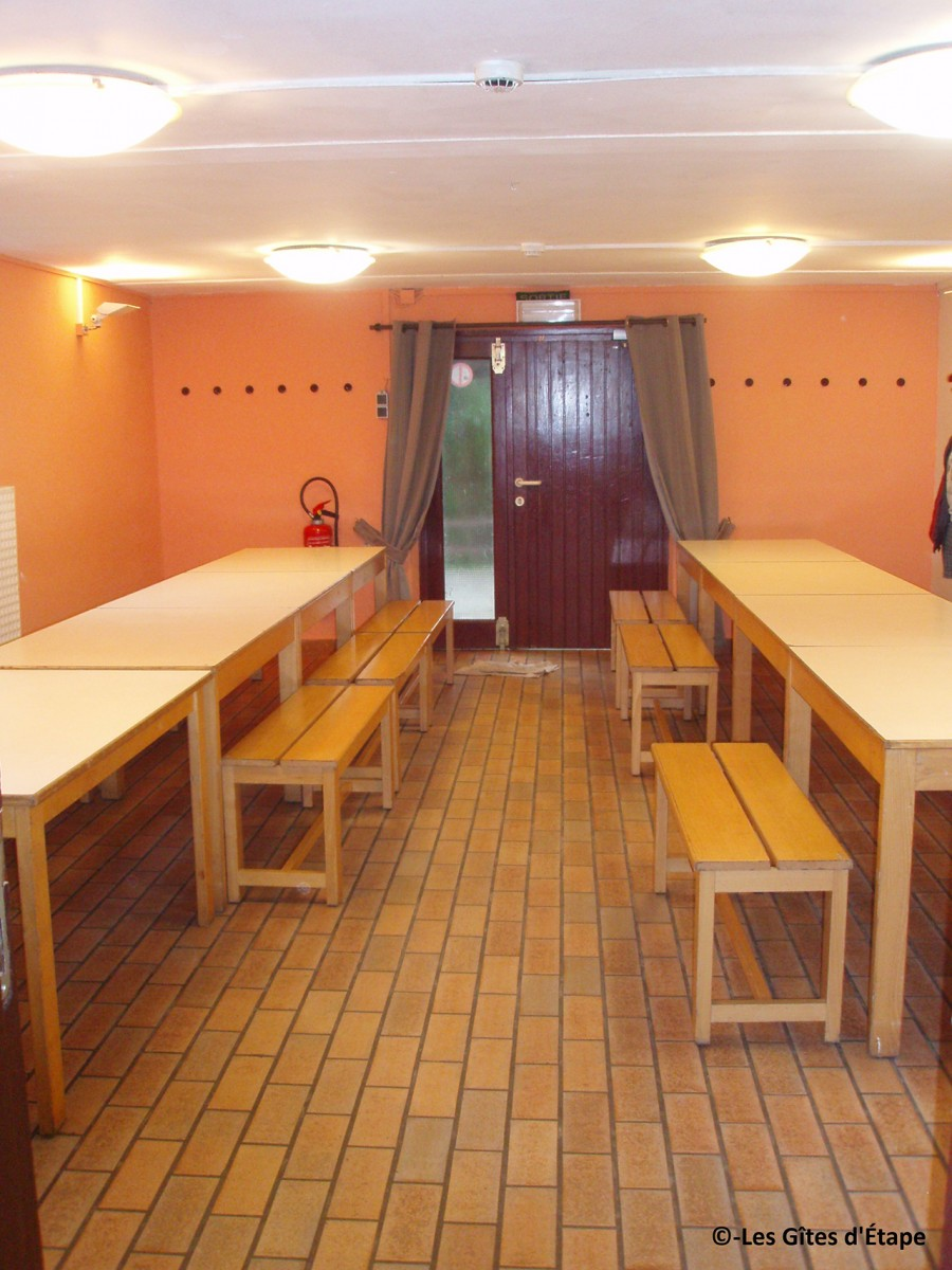 Gîte d'Étape Werbomont – Ferrières – Salle à manger