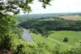 Balades en boucle - La petite boucle de l'Ourthe - Esneux - La Roche-aux-Faucons - Vue sur l'Ourthe