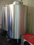 Bières de l'Abbaye de Flône - cuves en inox
