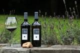 Bouteilles-vin-lavande