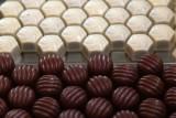 Pralines-chocolat-noir-blanc