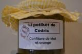 Li potikèt de Cédric - Herstal - confiture kiwi-orange