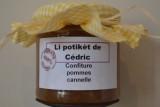 Li potikèt de Cédric - Herstal - confiture pomme