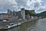 Bateau Val Mosan - Huy - Vue sur la Collégiale