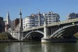Pont de Fragnée - Liège - vue générale du pont