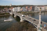 Pont de Fragnée - Liège - Vue aérienne