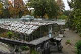 Liège - Serres du Jardin botanique - vue plongeante