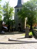 Place devant l'église de Dieupart