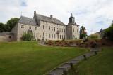 Château de Harzé - Façade et escalier extérieur