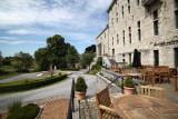 Château de Harzé - terrasse du restaurant