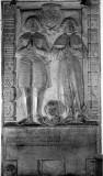 Rahier dalle funéraire - 1661 Gilles de Rahier et Marguerite Fraipont
