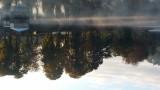 Lac de  Warfaaz - Brume automnale