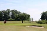Golf du Haras - Pepinster - 2 joueurs sur le terrain