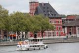 Liège Croisières - Le Vauban devant le Grand Curtius
