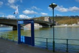 Liège - Navette Fluviale - Portique
