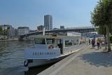 Liège - Navette Fluviale Frère Orban à quai