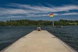 Lac de Bütgenbach - Ponton