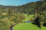 Natur Ourtal Blick vom Rittersprung