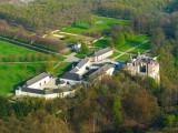 Domaine du Château de Modave - Modave - vue aérienne