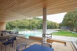 Lago Eupen Wetzlarbad - Vue de la piscine extérieure de la terrasse